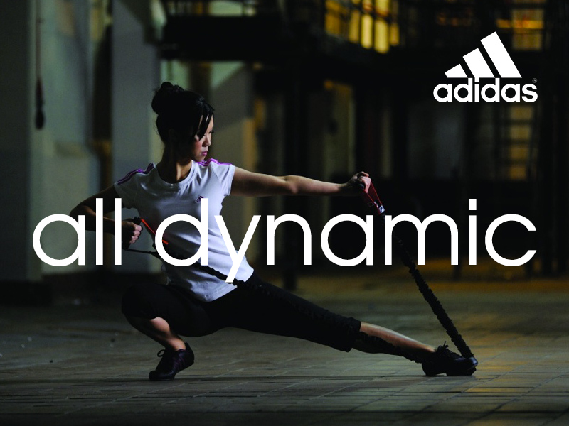 Selina Lo Adidas All Dynamic